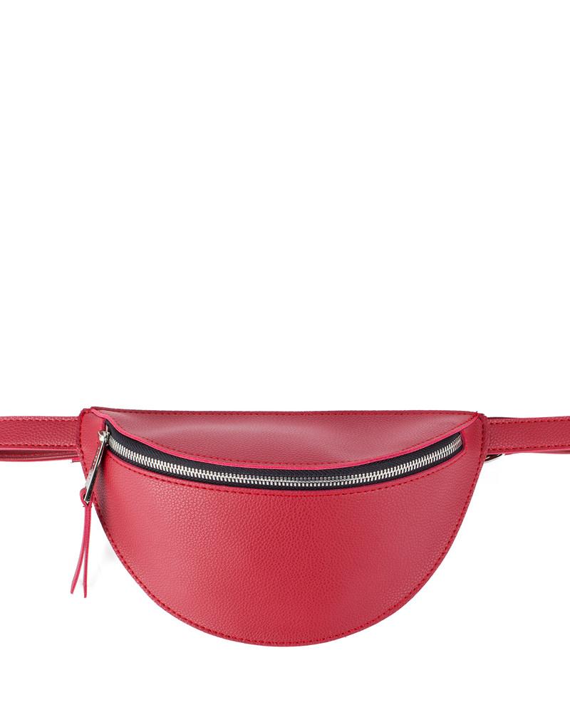 Поясная сумка Dumpi, Color - багровый