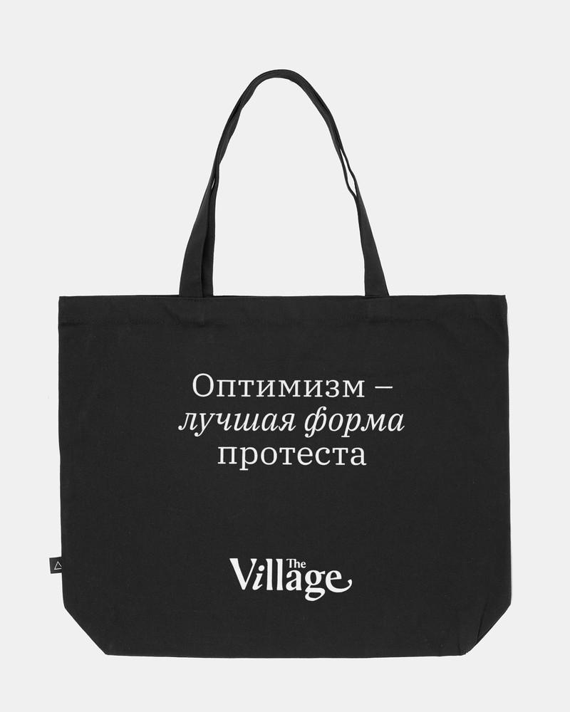 Сумка Шоппер VILLAGE, Цвет - черный