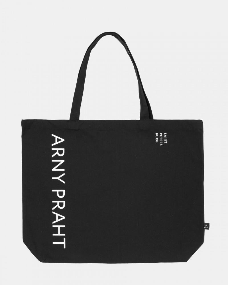 Сумка Сумка-шоппер текстильная BIG, Цвет - черный