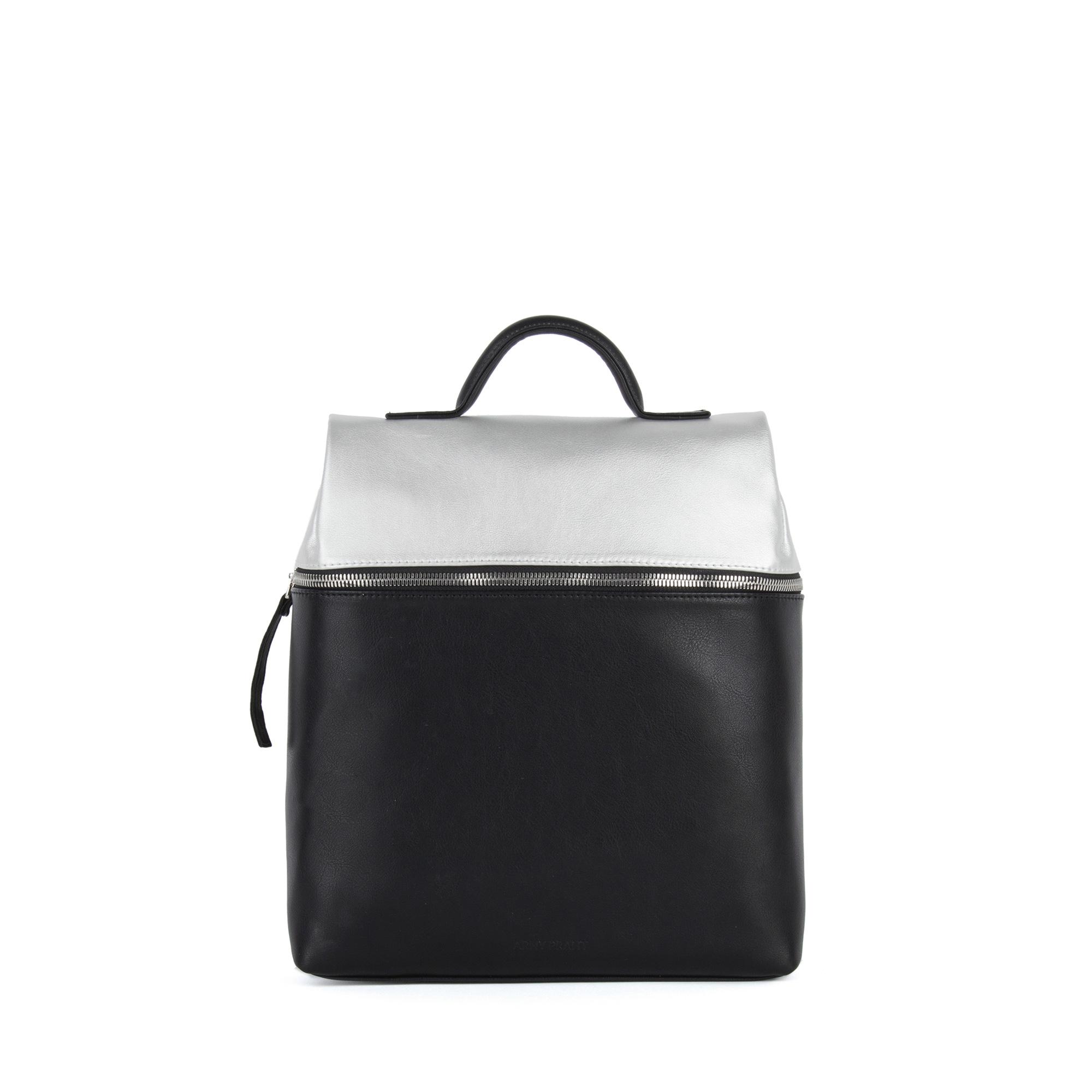 0c18ad5879ce Сумка-рюкзак трансформер женская Levin S черный-серебро - Интернет-магазин  ARNY PRAHT