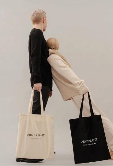 Белые сумки-шопперы от бренда ARNY PRAHT | Купить от 490р в Спб и Москве